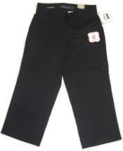 Dockers Women's Sateen SureFit Black Capris - More Sizes - Comfortable Soft NWT! - $25.84