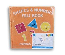 Horizon Shapes and Numbers Felt Busy Book for Grade K - 8'' x 8'' - $9.88