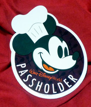 Walt Disney World EPCOT Food & Wine Annual Passholder Mickey Mouse car magnet - $29.95