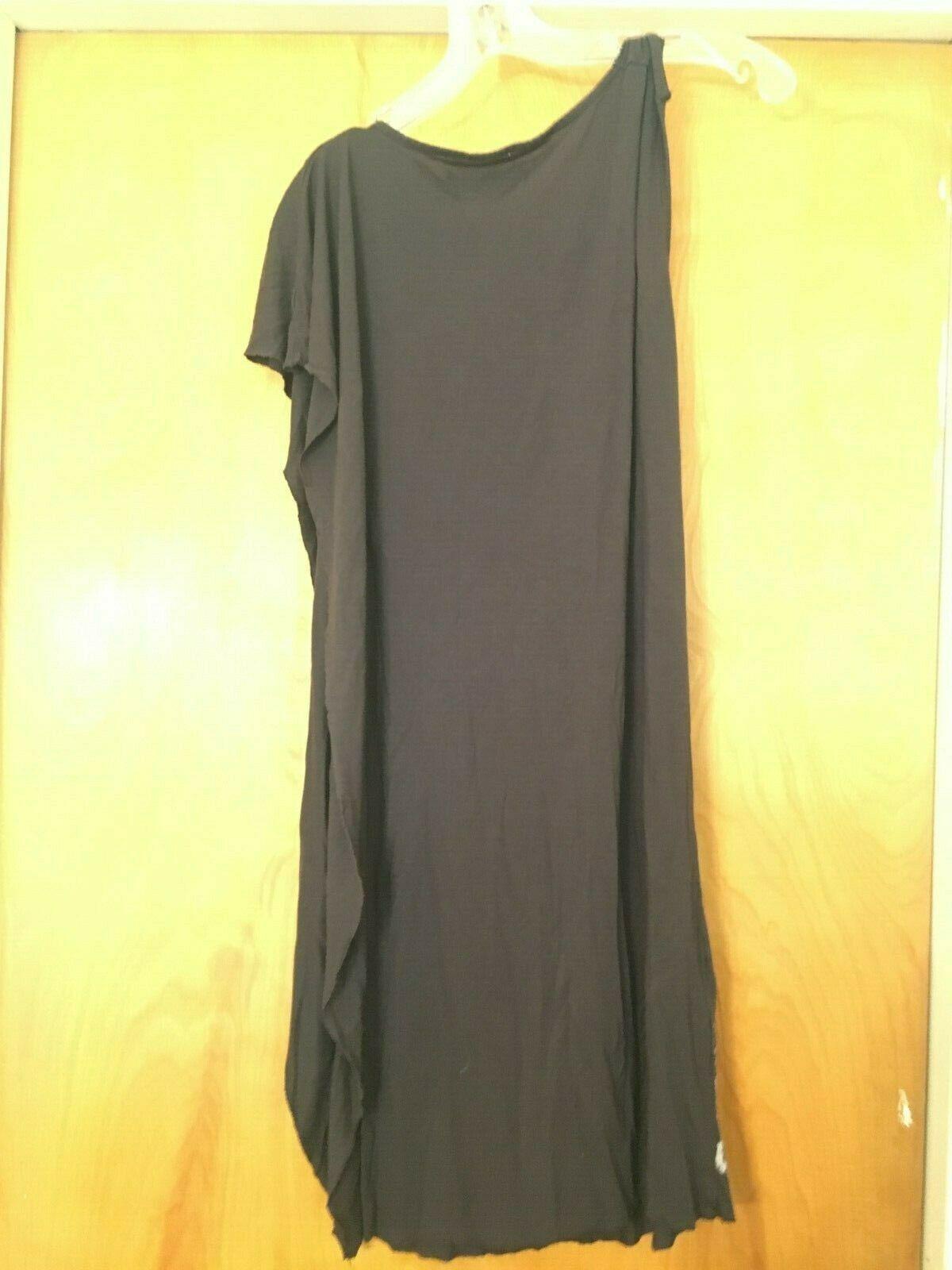 AllSaints Asymmetrical T-shirt Dress Size 8 image 8