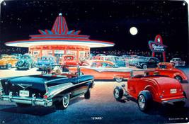Star Diner Jack Schmitt Retro Automotive Classic Metal Sign - $29.95