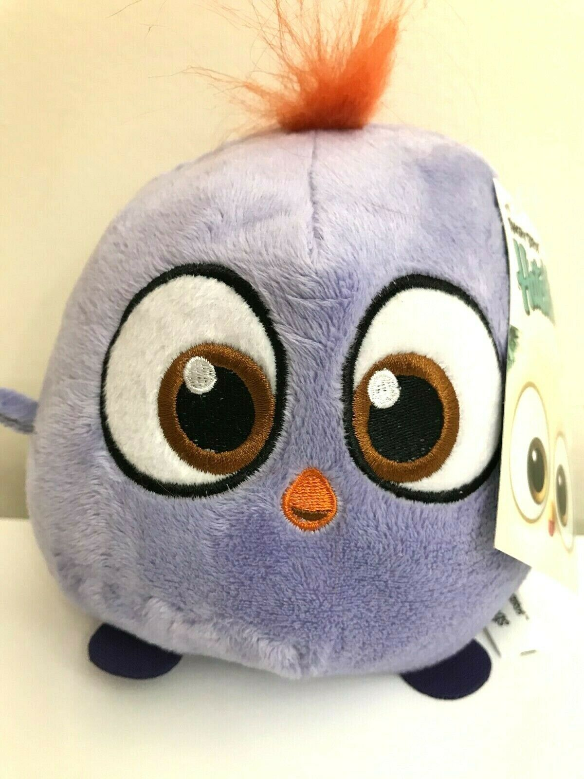 """6"""" Purple Angry Birds Hatchlings Plush Toy . Licensed. New - $15.99"""