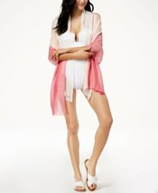 Calvin Klein Chambray Colorblocked Cover-Up & Scarf (Spring Rose, One Size) - €25,41 EUR