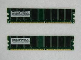 1GB (2X512MB) COMPAT TO PM-DDR400/0512MB SNPJ0202C/512