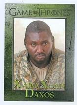 Game of Thrones trading card #35 2013 Xaro Xoan Daxos - $4.00