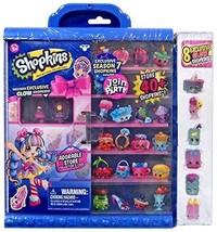 Shopkins Season 7 Join the Party Collectors Case W 8 Exclusive Glow Shop... - $58.90