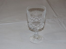 "Crystal Juice Glass Stem Glass 5 3/16"" Tall X 2 5/8"" Wide stemmed water ... - $29.69"