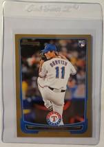 Yu Darvish 2012 Bowman Gold #209 Texas Rangers Chicago Cubs - $2.85