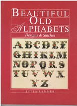 Book of Beautiful Old Alphabets Designs and Stitches  - $8.00