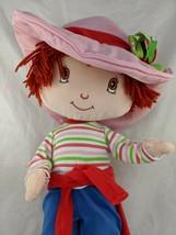 "Strawberry Shortcake Doll 16"" Poseable 2003 Fun-4-All Stuffed Animal Toy - $9.95"