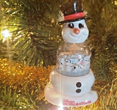 Christmas Ornament Disney 101 Dalmatians Snowman Snow Globe MacDonalds - $5.69