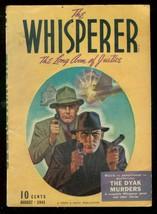 Whisperer #6-PULP-AUG 1941-DYAK MURDERS-STREET & Smith Vg+ - $303.13