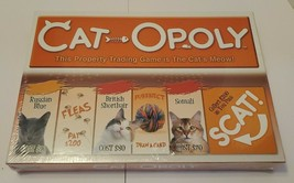Late for the Sky CAT-opoly Board Game Monopoly Cat Edition - $24.65