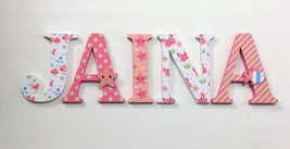 Wood Letters-Nursery Decor- Under The Sea Themed - Price Per Letter-Cust... - $12.50