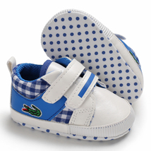 Free Shipping Blue Baby Walking Shoes Leather Toddler Shoes Size 1,2,3 L6482 image 8