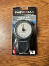 NIP Swiss Gear Luggage Scale & Tape Measure Weighs up to 83 lbs Brand New - $18.66