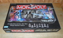 Star Wars Monopoly Trilogy Edition, 2004 ~ Complete - $14.68