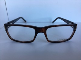 New Tom Ford TF 5013 TF5013 052 54mm Tortoise Rectangular Eyeglasses Frame - $197.06