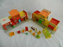 Vintage 1970's Fisher Price Play Family Village 997 - $31.99