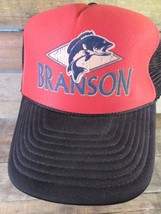 BRANSON Fish Fishing Lake Snpaback Trucker Adjustable Adult Hat Cap - $8.90