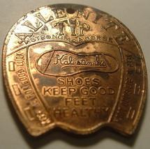 Kalisteiniks Allenite Tip Shoes Good Luck Ad Medal (1920s) Fob / Token  - $10.00