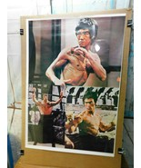 Vintage Bruce Lee Poster 6097 Taiwan Collage   E9 - $49.49