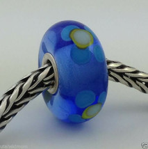 Authentic Trollbeads Ooak Murano Glass Unique (#404) Bead Charm, New - $33.81