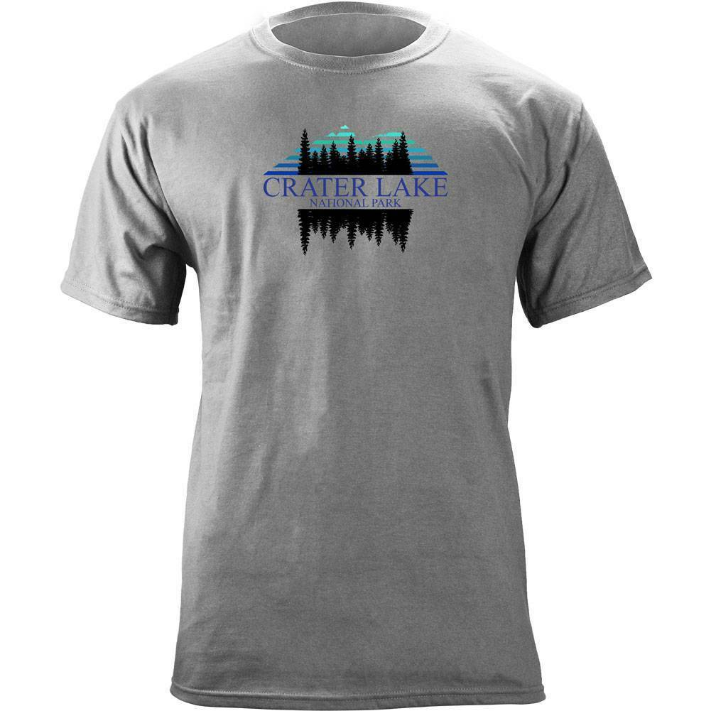 Retro Crater Lake National Park 80's T-Shirt image 3