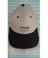 CRANE NUCLEAR Cap Embroidered Brown and Black - $12.95