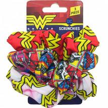 Wonder Woman 3-Piece Scrunchies Set Multi-Color - $15.98