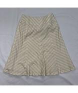 Ann Taylor Women's Size 2 Beige Straight Skirt - $16.81