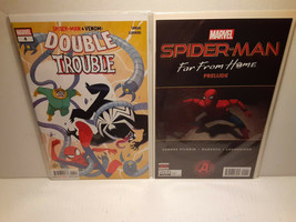 SPIDER-MAN: FAR FROM HOME PRELUDE + DOUBLE TROUBLE - FREE SHIPPING - $14.03
