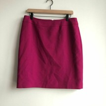 Tahari Petite Skirt Lined Business Fuchsia 8P - $10.00