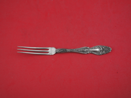 "Cloeta by International Sterling Silver Strawberry Fork 5 1/8"" Antique - $49.00"