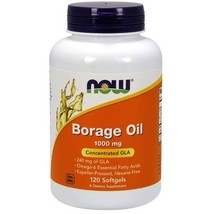 Now Foods Borage Oil - 1,000 mg - 120 Softgels - $29.80