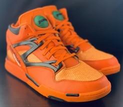 "Reebok The Pump Hexalite ""Halloween"" Glow Men Size 10 Orange Black Sneakers - $138.59"