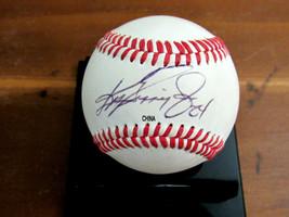 KEN GRIFFEY JR # 24 MARINERS REDS HOF SIGNED AUTO VINTAGE BASEBALL JSA A... - $296.99