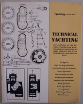 Technical Yachting, A Yachting Feature Book (Explanations of the design,... - $14.99