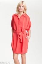 DVF Diane von Furstenberg Karin Dress in Cherry - NWT Size 10 - $127.71