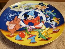 Disney Plate Schmid 50th Anniversary Fantasia Sorcerer's Apprentice - $25.73