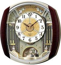 SEIKO Clock Clock Wall Clock Wave Symphony Radio Clock Twin -Pas contraption RE5 - $663.41
