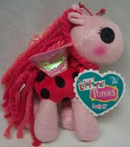 "Lalaloopsy Ponies Lady B. Pink Pony 6"" Plush Stuffed Doll Toy New - $18.32"