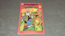 Golden Sticker Fun Book: Tweety & Sylvester 1984 [NEW & UNUSED] NOS - $20.00