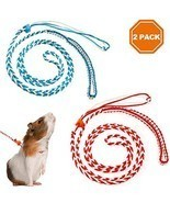 PAWCHIE 2Pcs Small Animal Harness Leash Adjustable Walking Rope for Hams... - $19.43