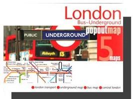 London Popout Map (Underground) - $8.34