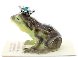 Hagen-Renaker Miniature Frog Prince Kissing Birthstone 05 May Emerald image 4