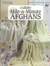 Lullaby Mile-a-Minute Afghans for Babies 6 Crochet Designs Jennine Korejko - $8.00