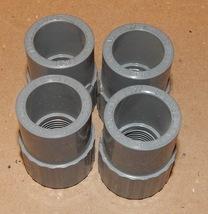 "1/2"" NPT x 1/2"" Slip Gray Spears Coupling PVC USA SCH 80 F439 4ea NSF-PW... - $7.49"