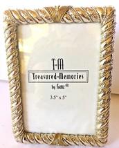 "Treasured Memories Ganz Heavy Silver Frame/5"" by 3/12"" - $15.95"