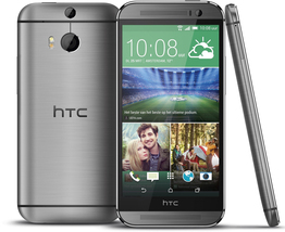 """Htc one m8 at&t grey 2gb 32gb quad core 5.0"""" hd screen android 4g lte smartphone - $176.80"""